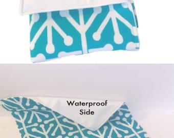 You pick print Baby Changing Mat, waterproof changing pad, wipe clean changing mat, laminated changing mat