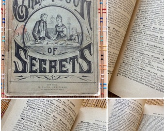 1878 Book of Life Hacks:  Young's Great Book of Secrets, R