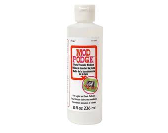 Mod Podge Photo Transfer Medium (8-Ounce), CS15067 - DYI Photo Transfer Medium - PLAID ENTERPRISES
