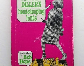 1966 Autographed Phyllis Diller's Housekeeping Hints