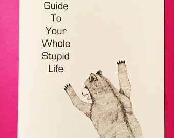 Comics Zine 20 pgs - Kpolly's Guide to Your Whole Stupid Life