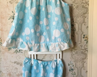 Toddler infant swing top and bloomers set 18m