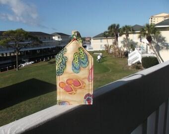 Beach Flip Flops Luggage Tag