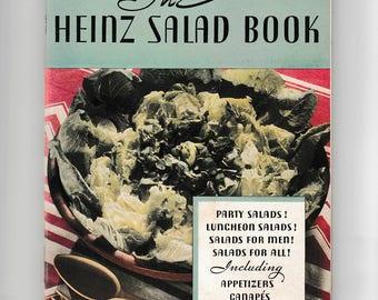 Vintage Cookbook The Heinz Salad Book Recipe Booklet Pamphlet