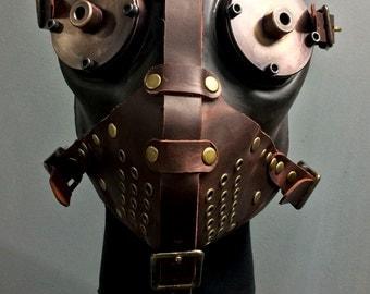 Gas Mask - Slave - Burgundy