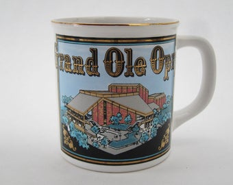 Vintage Grand Ole Opry™ Coffee Mug with Gold Trim