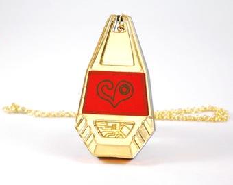 Digimon Sora Takenouchi Crest of Love Digi Tag