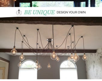 14 Pendant Light Swag Chandelier & Hanging Pendant Lights and Chandelier Lighting by HangoutLighting azcodes.com
