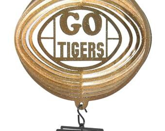 Missouri Tigers COMBO Mini Swirly Metal Wind Spinner