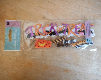 Trick or Treat Dimensional Stickers by Jolee's Boutique  16 Pieces
