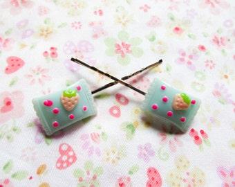 Kawaii Candy Hair Pins / Bobby Pins, Cute Hair Pins / Bobby Pins, Sweet Lolita, Candy, Kawaii, Cute, Teen/ Girls Gift