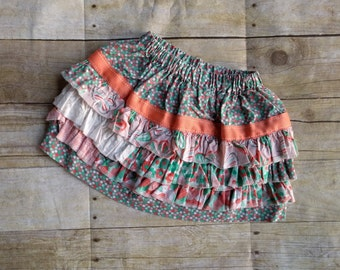 Toddler Ruffle skirt - 18 months - ready to ship