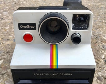 Retro Polaroid One Step SX-70 Camera
