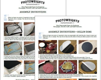 PhotoWeights Assembly Instructions
