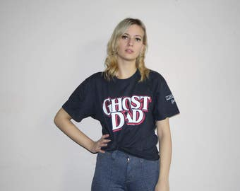 1980s Ghost Dad Movie Bill Cosby 80s VTG T Shirt - 80s Clothing - WV0151