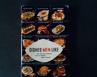 Dishes Men Like, Advertising Cookbook, Lea & Perrins, 1952
