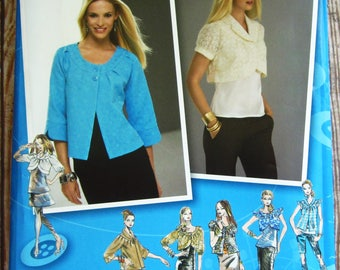 Misses Jackets in Two Lengths with Neckline and Sleeve Variations Sizes 6 8 10 12 14 Simplicity Pattern 2652 UNCUT