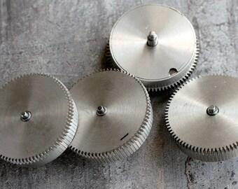 Vintage alarm clock going barrels -- set of 4 -- D12