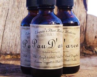 Pau D'arco 2oz Anti- Fungal, Anti-Viral, Immune Support & Blood Builder