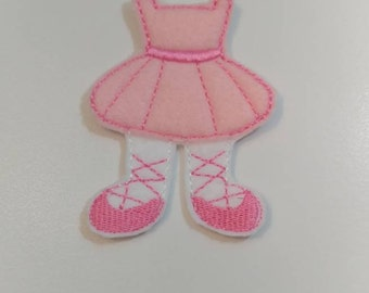 Pink UnPaper Doll Dress, Unpaper Doll Outfit, Nonpaper Doll Dress, Nonpaper Doll Outfit, Felt Doll Outfit, Flat Doll Dress, Doll Outfit