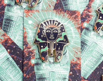 Cosmic Pharaoh Hard Enamel Pin