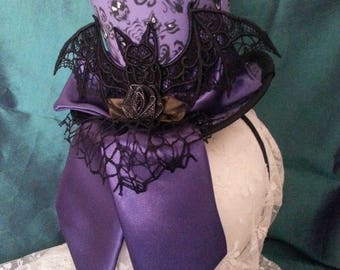 Haunted Mansion, Gothic, Cosplay, Mini Top Hat