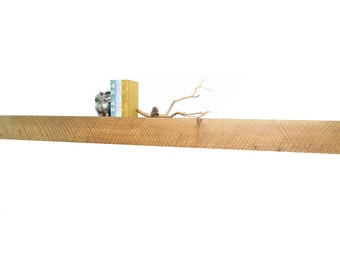 "Reclaimed wood fireplace mantel or floating shelf : 48""- 80"""