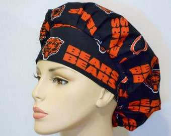 Bouffant  Medical Bears Scrub Hat - NFL Chicago Bears