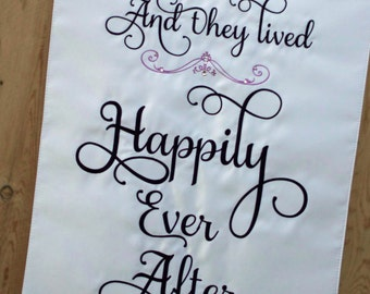 Wedding Banner - Personalized