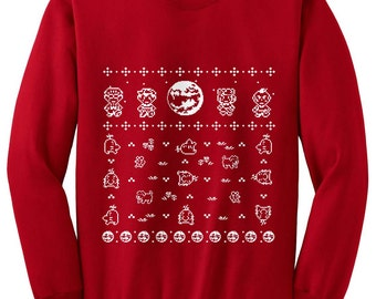 Ugly Christmas Earthbound Sweater inspired- Sweatshirt - Unisex Sizes