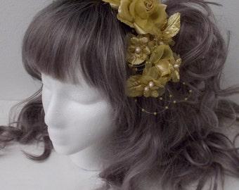 Bonnet Comb Choose Your Color: Muted Gold