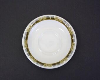 Vintage 1964 Shenango 'Kon Tiki' Saucers, Set of 5 (E4404)