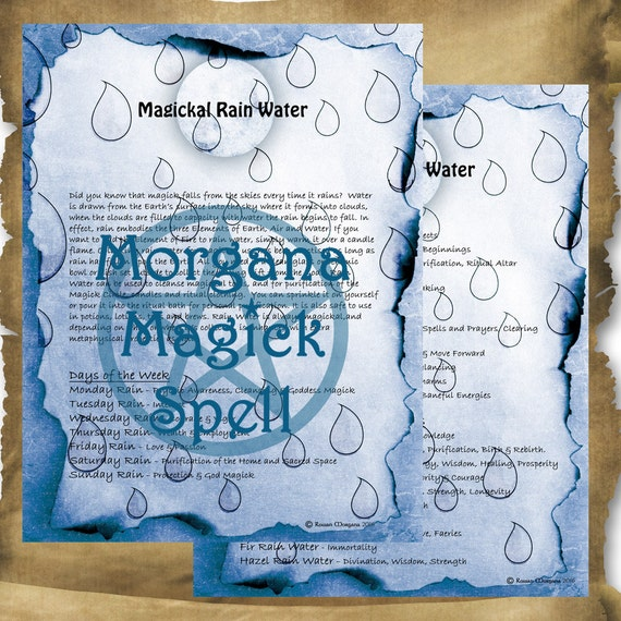 Rain Water Magick