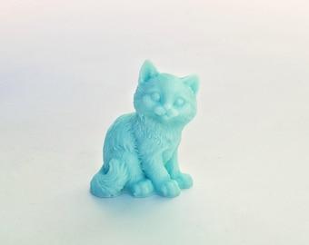 Cat Soap: Sittin Pretty - Prissy Kitty Cat Soap, You Choose Color & Scent