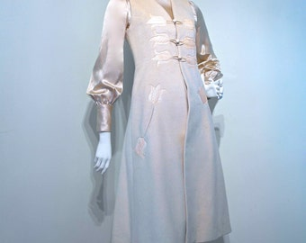 RARE Vintage 1960s RUSSIAN PRINCESS Winter Bridal Outfit circa 1969-70 // Silk Cashmere and Python Snakeskin // True One of a Kind Piece