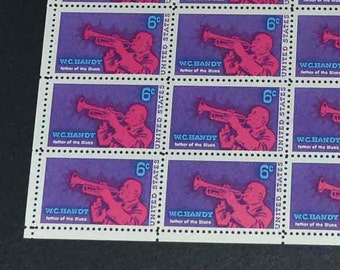 US stamps   MINT 2 blocks of 50  1967  1969
