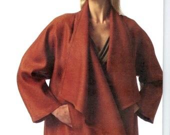 Donna Karan wrap jacket pattern -- Vogue American Designer 1346