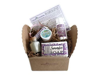 Spa Gift for her / Spa Sample Set / Spa Gift Set