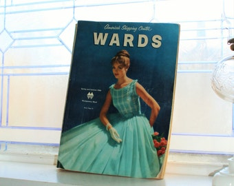 Vintage 1960 Montgomery Ward Catalogue Spring and Summer