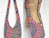 Hobo Bag Cross Body Bag Boho Bag Sling Bag Hippie Purse Tapestry Hobo Purse Bohemian Purse Hipie Bag Handmade Bag Slouchy Purse Fabric Purse