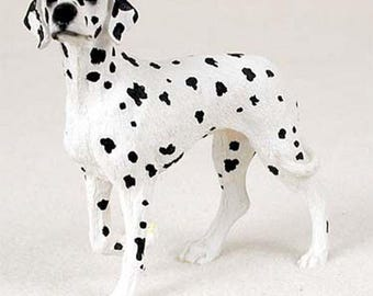 Custom Painted Dalmatian Dog Figurine