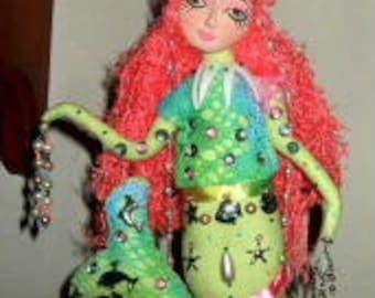 Mermaid Art Doll Treasures