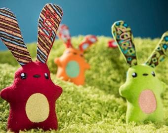 Easter Bunny Stuffies - Basket stuffers - Personalized 2017- custom- Soft bunny rabbits- kawaii Bunnies - Plushie Rabbit - stuffed animal