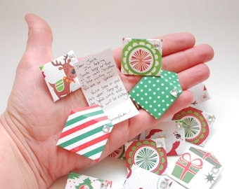 Letter from Santa's Elf: tiny and customizable