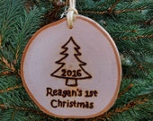 2016 Baby's 1st Christmas Ornaments