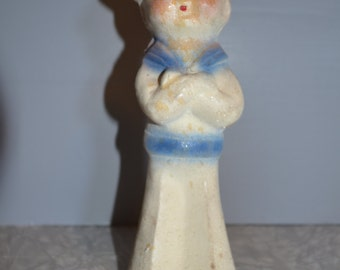 Chalkware Sailor ~ Vintage Carnival Prize ~ Chalkware Figure~ Epsteam