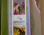 Nancy Drew Vintage Whispering Statue Secret at Shadow Ranch Bookmark - Laminated double sided