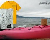 TRUCKEE RIVER MAP T-Shirt...