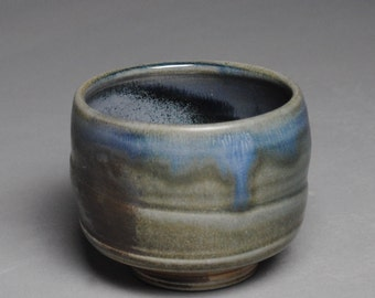 Tea Bowl Handmade Chawan  Soda Fired F68