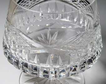 Brandy Snifter - Galway Ashford Crystal (Cut Base) - Brandy Snifter Crystal Glass (TC-25)